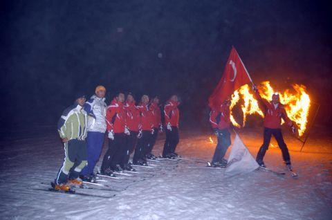 Türkiye nin önemli kayak merkezlerinden biri olan kartalkaya ya